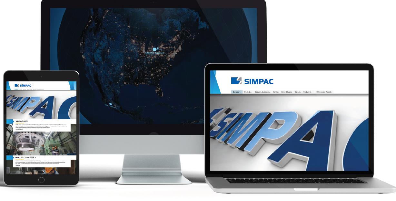 SIMPAC America Rebrands With New Company Website